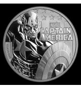 "$ 1 Marvel Series ""Captain America"" ​​BU"